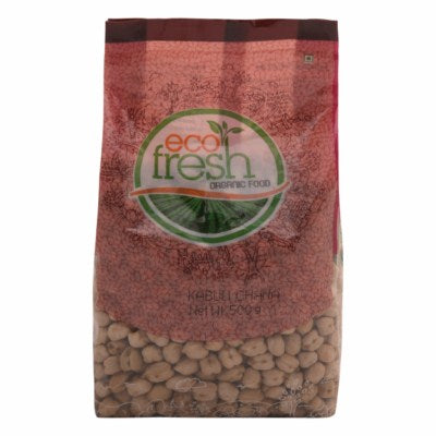 Buy Ecofresh Organic Kabuli Chana Online