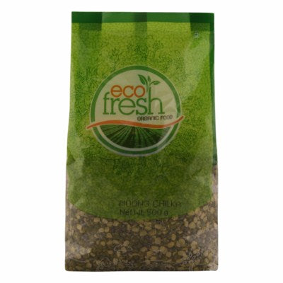 Organic Moongdal (Chilka) (Eco-Fresh)