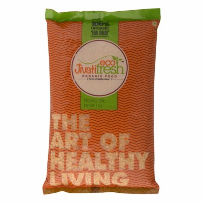 Organic Moong  Dal (Eco-Fresh)