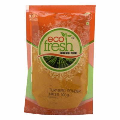 Buy Ecofresh Organic Turmeric Powder Online At Orgpick