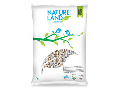 Get Branded Natureland's Organic Washed Urad Split Online At Orgpick