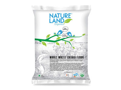 Buy Natureland's Organic Whole Wheat Flour/Atta Online At Orgpick