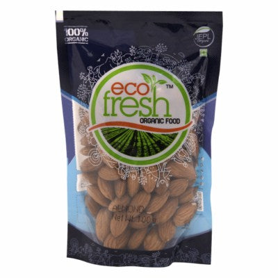 Buy Ecofresh Organic Almond(Badam) Online At Orgpick