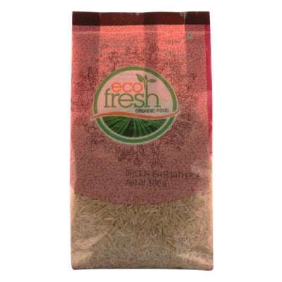 Organic Basmati Brown Rice (Eco-Fresh)