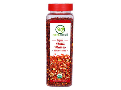 Organic Chilli Flakes (Geo-Fresh)