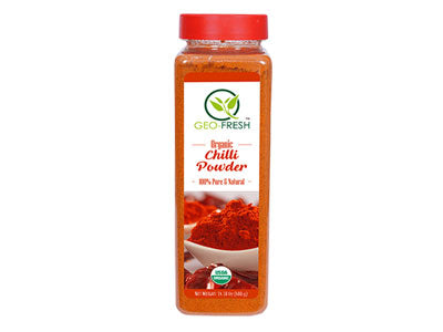 Organic Chilli Powder (Geo-Fresh)