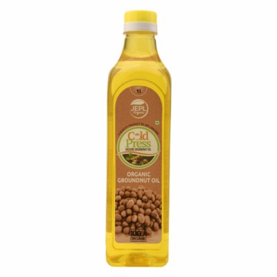 Order Ecofresh Organic Cold Press Groundnut Oil Online At Orgpick
