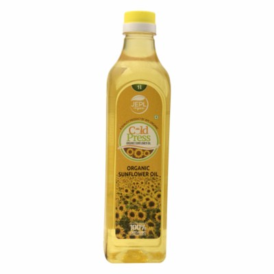 Order Ecofresh Organic Cold Press Sunflower Oil Online At Orgpick