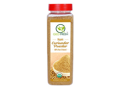 Organic Coriander Powder (Geo-Fresh)