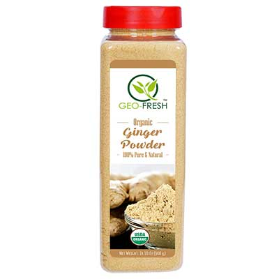 Organic Ginger Powder(Geo-Fresh)