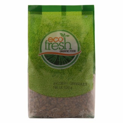 Buy best quality Ecofresh Organic Jaggery Powder Granules Online at Orgpick