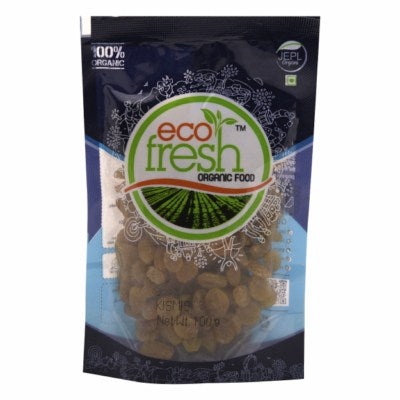 Buy Ecofresh Organic Kismis (Raisin) Online At Orgpick
