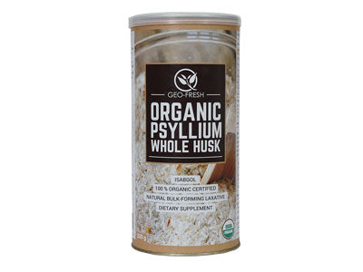 Organic Psyllium Whole Husk (Geo-Fresh)