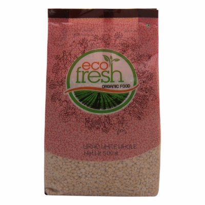 Organic Urad White Whole (Eco-Fresh)
