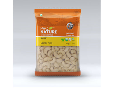 Organic Salted Cashew - Pouch (Pro Nature)