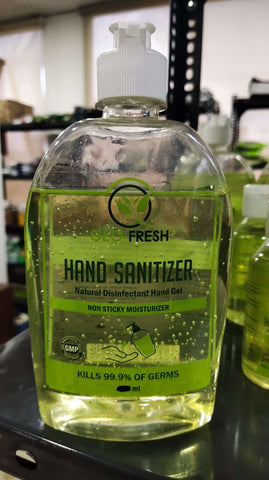 Natural Hand Sanitizer (Geo-Fresh)