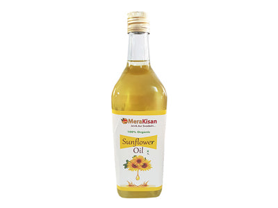 Buy Organic Sunflower Oil (Mera Kisan) - www.orgpick.com