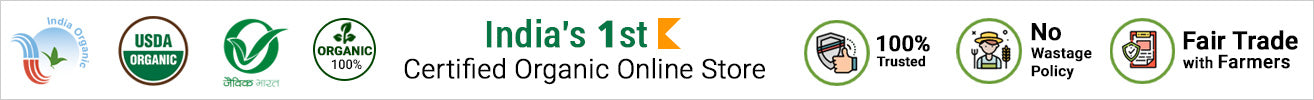 India's 1st Certified Organic Online Store