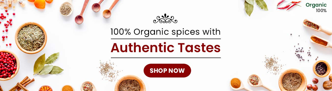 Organic Spices with the authentic taste - www.orgpick.com