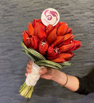 Load image into Gallery viewer, Tulip Bridal Bouquet