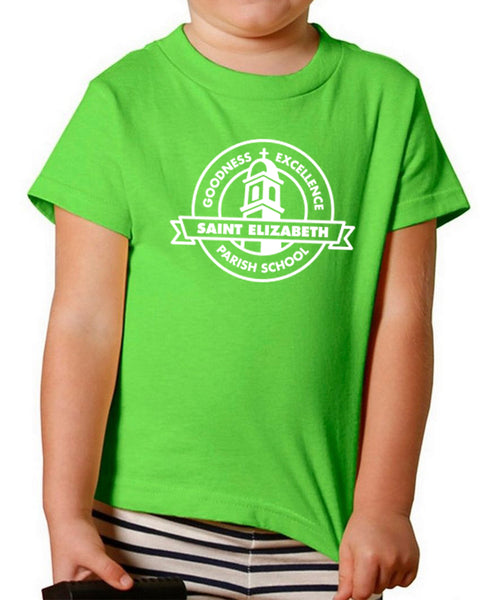 St. Elizabeth TK / Kinder Tee in Green