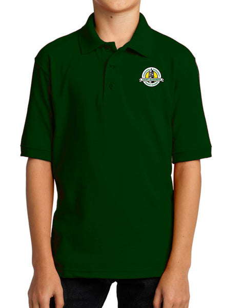 St. Elizabeth Green Uniform Polo