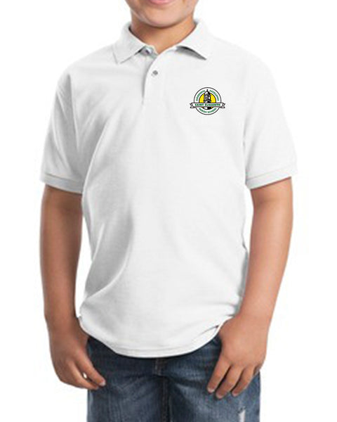 St. Elizabeth White Uniform Polo