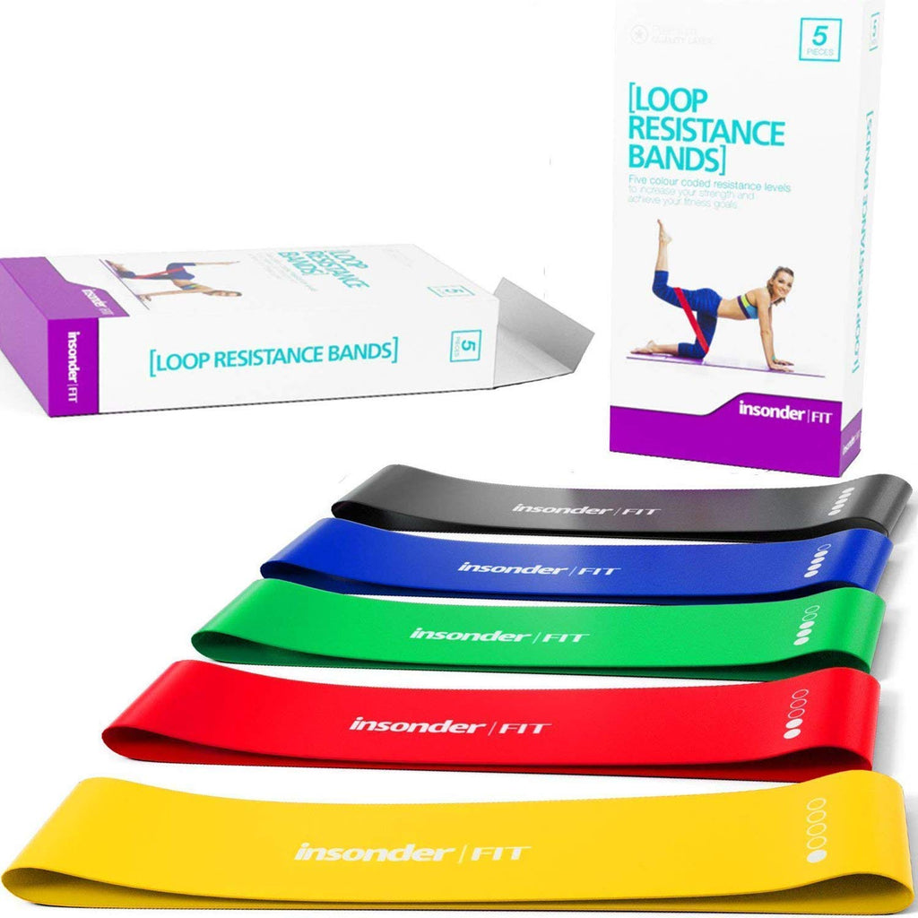 Resistance Band Sets - (5 Resistance Levels)