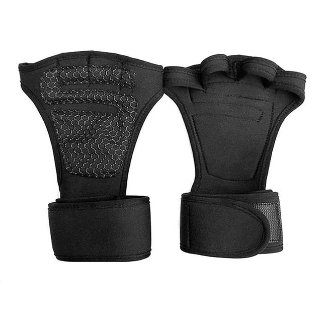 Weight Lifting Gym Gloves - Wrist and Palm Protector