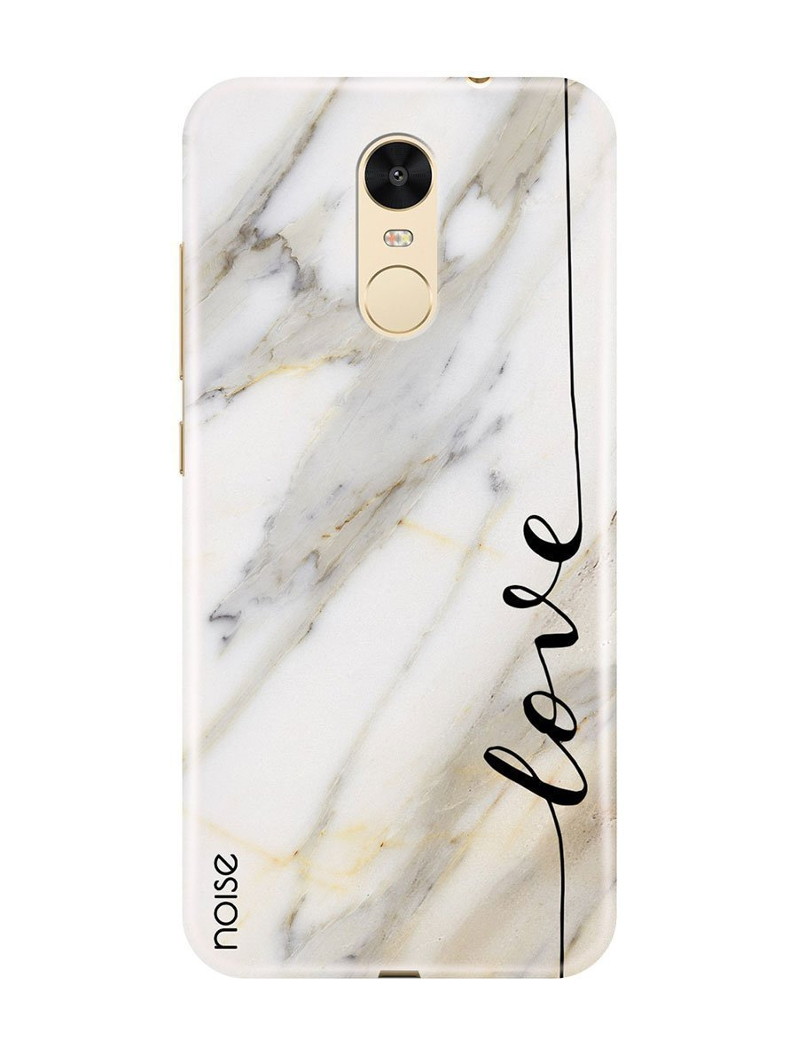 cba731be1 Buy Xiaomi Redmi Note 4 Cover- Marble Love Online in India - Gonoise ...