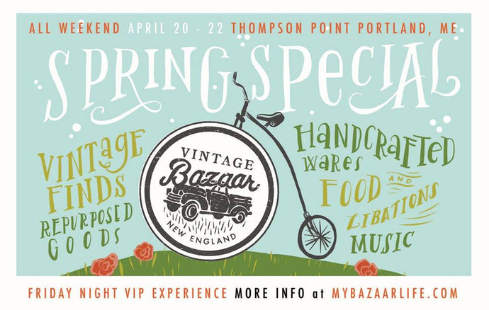 See Loyal Citizen at the Vintage Bazaar Spring Special