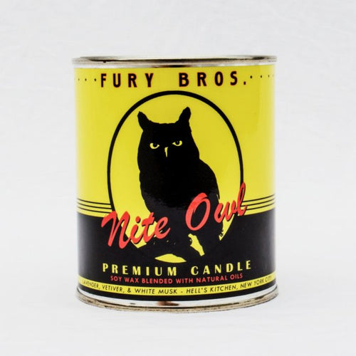 Fury Brothers Night Owl Candle