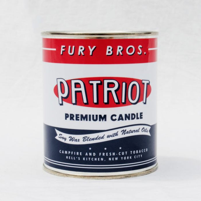 Fury Brothers Patriot Candle