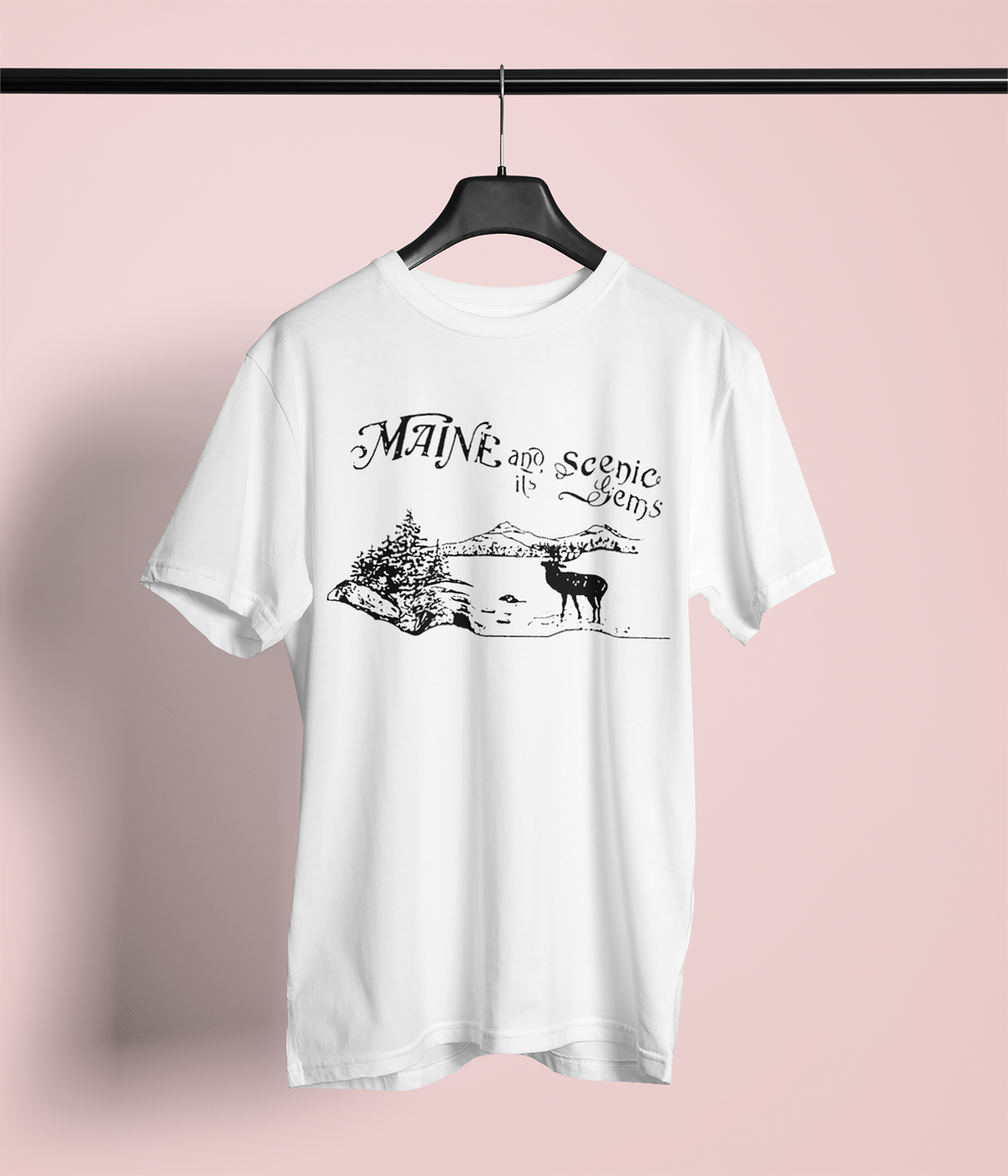 Maine and it's Scenic Gems T-Shirt