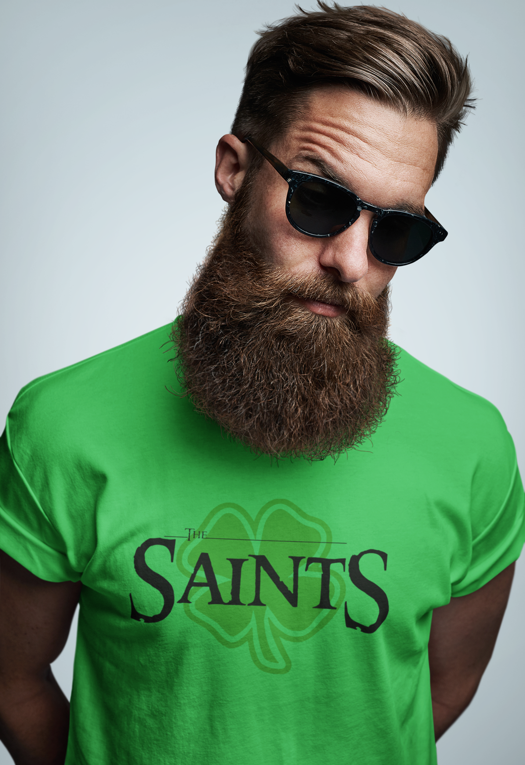 SAINTS Patrick day tee