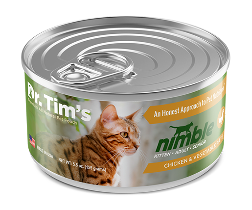 Nimble - Cat Food Chicken Vegetable Pate