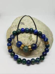 Chrysocolla Necklace & Bracelet Set