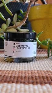 Iyoba Matcha Green Tea Face Scrub