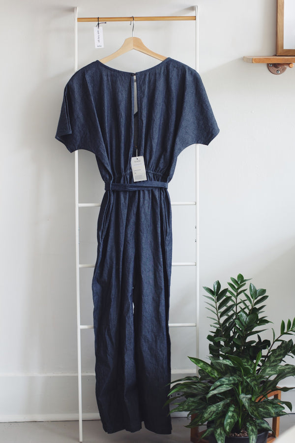 Maiya Chambray Jumpsuit