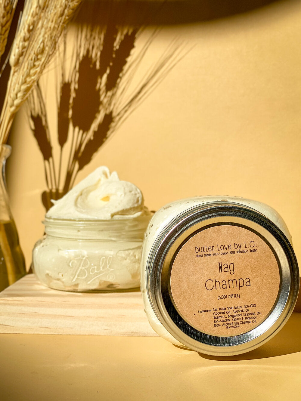Butter Love By L.C. Nag Champa Body Butter