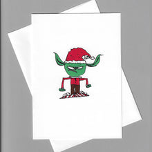 Load image into Gallery viewer, Angry Elf Card