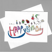 Load image into Gallery viewer, Happy Birthday Parade Card