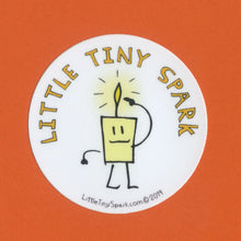 Load image into Gallery viewer, Little Tiny Spark Sticker