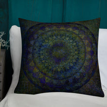 Load image into Gallery viewer, Peacock Mandala Premium Pillow