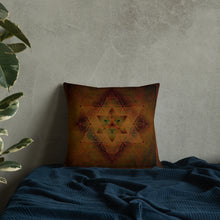 Load image into Gallery viewer, Merkabah Premium Pillow