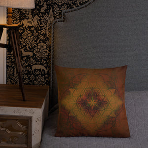 Merkabah Premium Pillow