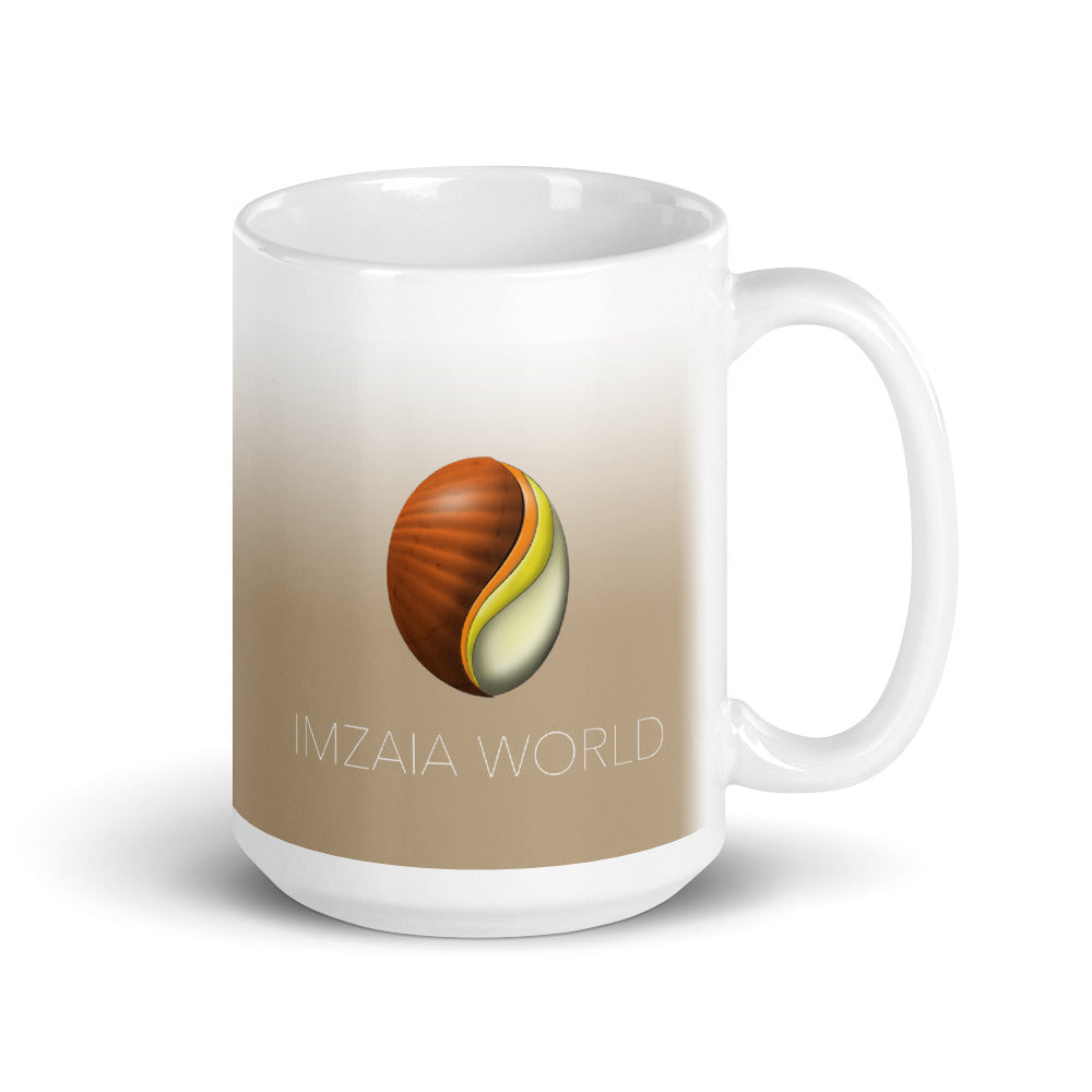 Imzaia World Sandy Brown Mug