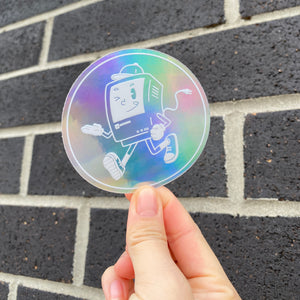 Holographic Softboy Sticker