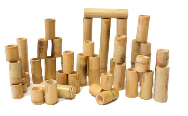 Bamboo Building and Counting Set 40PC