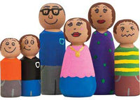 Wooden People Family Set of 6